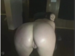Oil Big Perfect Ass and Titties Sucking NIpples