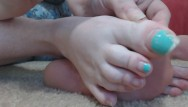 Porn clips long Long tiffany blue french pedicure toenails on bbw camgirl get clipped