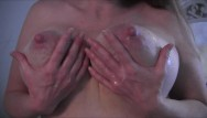 Milk out of breasts pix - My lovely natural breasts dripping milk