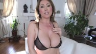 Worlds smallest bra on big tits Kianna dior - sheer bra titfuck