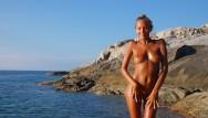 Naked rockstar dancers Katya clover - naked beach dancercorsica summer 2014