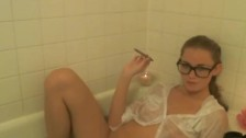 Smoking in the Bath