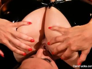 Cherie DeVille gets dominated by Dani Daniels