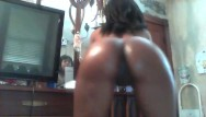 Wet and oily fucked asses - Juicyjay9- oily twerking booty part.2