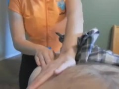 Not Real Sister Gives A Massage