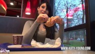 Nude katie holmes photos - Katy young - hot teengirl blows, gets fucked and eats cum at burger king