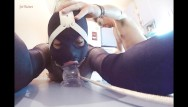 Sexy soiel - Kitchen table brutal dildo throating anal ramming ring gagged slut
