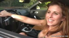 Busty Hot MILF Cory Chase caught Stealing a Car