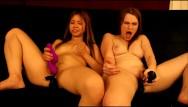 Andrea rincon playboy lesbian Panty stuffing fun- andrea sky, asia zo