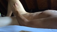 Cock spurt - Stroking my thick cock until i spurt cum all over myself