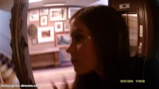 Blowjob close to the HOTEL-RECEPTION : Little Caprice