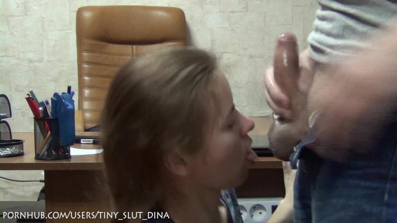 Русская любительская школьница рот! трахают ее подростковый рот!