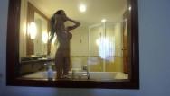 Cught naked through window pics Miamaxxx luxury tattooed cover girl see-through window fun