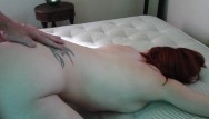 Dress up the nude - Tight grey dress tease, ass up, suck and doggy fuck with creampie
