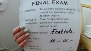 Latex align text - Footjob stamina text part 2. retake exam. pass or fail