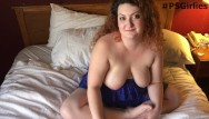 Ass interview Danielle behind the scenes real bbw interview and masturbation