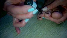 Ksenia's Foot Fetish - Painting Nails On My Sexy Feet