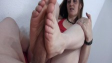 Foot Job Hand Job Blow Job with Chucks and without