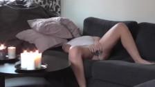 Hidden cam caught wife in living room