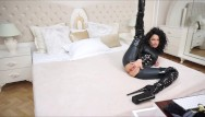 Latex heels video free Anisyia livejasmin full latex bodysuit extreme high heels