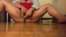 Wild Squirt by Piper Cox and her Banana