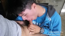 Sucking a straight hairy boy for cash