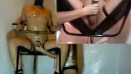 Orgasm denial prostate - Bondage chair milking denial