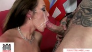 Big tit porn sluts - Porn slut capri cavanni pounded by huge cock gets massive facial