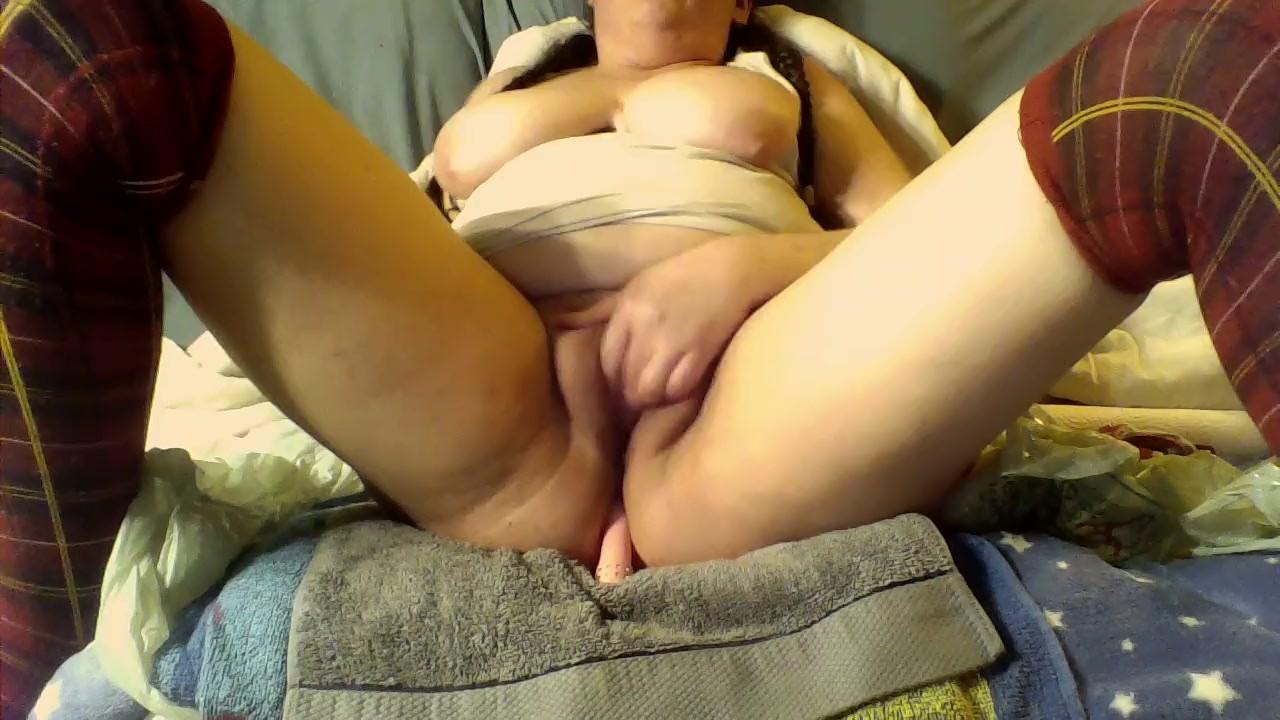 Slim Thick Ebony Masturbation
