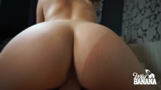 Miss Banana fucked by huge cock