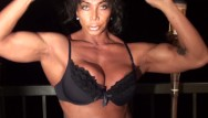Erotic playa del ingles nightlife - On the patio erotic dance and pec flexing by ldr