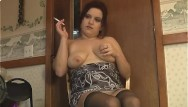 Big boobs in low cut tops Smoking thigh highs low angle - alhana winter - rottenstar vintage clip