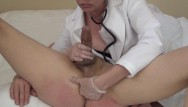 Doctors who play in pussies Lets play doctor femdom