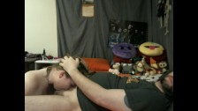 Redhead Face Fucked by Dominate Older Man with Facial and Cum Swallowing