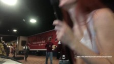 freckledRED Cums In Public At Exxxotica Convention