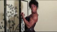 Her biceps grew tits - porn - Bodacious biceps by fbb latia del riviero home workout