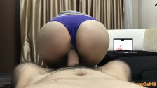 Step Brother Fuck Me While I Watching Porn He Cum Inside Me Creampie