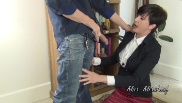 Facefucking the Anger Management Counselor 2