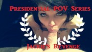 Face hair lips mouth facial ear spit swallow drink - Presidential blowjob roleplay super hot stella von savage gags spits