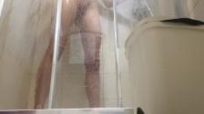 hidden camera in the shower!
