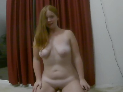 Thick PAWG Pale Redhead has a Long Sybian Ride with Hard Squirting Orgasms