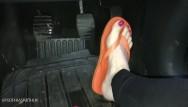 Xxx flips of porn Flip flops barefoot pedal pumping custom