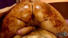 Tasty Big Ass in Chocolate Messy Fuck!