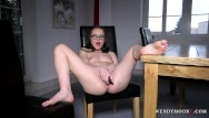 Make at home dildos - Wendymoonx - wendy moon use dildo to make her self cum multiple times