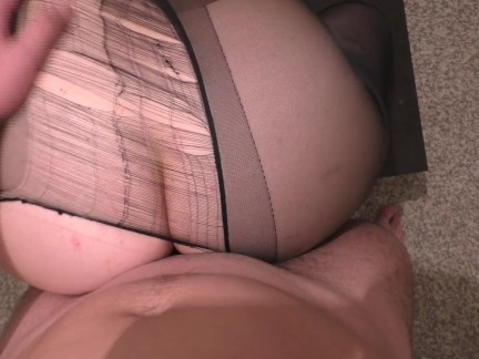 STEP BROTHER FUCK HIS SISTER FOOTJOB AND HANDJOB IN NYLON PANTYHOSE