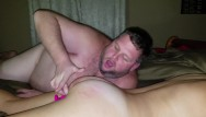 Spanked bad girl - Daddy cums in her mouth, she cums on face, spanking for being a bad girl