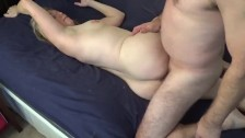 Amateur MILF fucks best friend all day