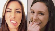 CUTE PORN GIRLS TURNED INTO NAUGHTY SLUTS - CUTE MODE   SLUT MODE - R&R02
