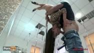 Hot ass dance - Beautiful teen hot pole dancing and anal to throat fucking. mia bandini