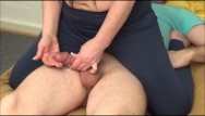 Carmen electras advanced aerobic strip tease Carmen cumtrol: tease his milk out handjob, german, multicum